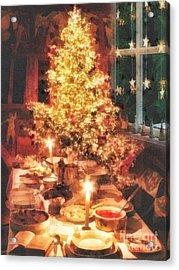 Christmas Eve Acrylic Print by Mo T