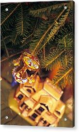 Christmas Ornaments IIi Acrylic Print by Harold E McCray