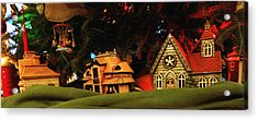 Christmas Ornaments Vi Acrylic Print by Harold E McCray