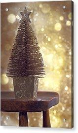 Christmas Tree Acrylic Print by Amanda And Christopher Elwell