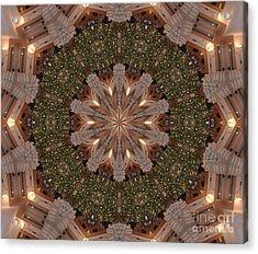 Christmas Wreath Acrylic Print by Lena Photo Art