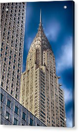 Chrysler Building Acrylic Print by Joann Vitali