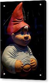Chubby Elf Acrylic Print by Odd Jeppesen