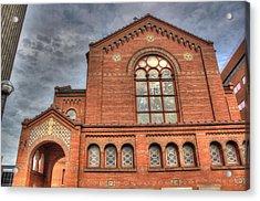 Church In Hdr Acrylic Print by Tim Buisman