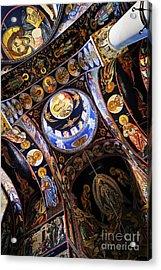 Church Interior Acrylic Print by Elena Elisseeva