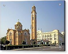 Church Of Jesus The Saviour Acrylic Print by Ladi  Kirn