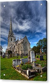 Church Of Marble Acrylic Print by Adrian Evans