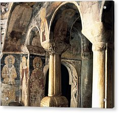 Church Of Saint Naum. Macedonia. Ohrid Acrylic Print by Everett