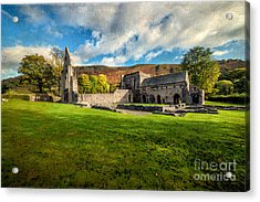 Church Of The Blessed Virgin Mary Acrylic Print by Adrian Evans