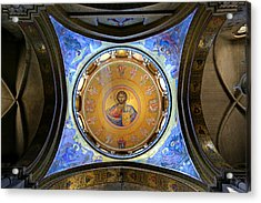 Church Of The Holy Sepulchre Catholicon Acrylic Print by Stephen Stookey
