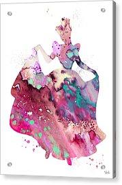 Cinderella Acrylic Print by Luke and Slavi