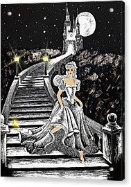 Cinderella Acrylic Print by Svetlana Sewell
