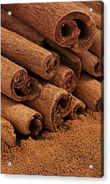 Cinnamon Sticks 2 Acrylic Print by John Brueske