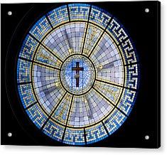 Circle Of Christ Acrylic Print by Dee  Savage