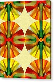 Circle Pattern 3 Acrylic Print by Amy Vangsgard