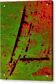 Circulate Acrylic Print by Tom Druin