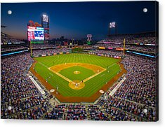 Citizens Bank Park Philadelphia Phillies Acrylic Print by Aaron Couture