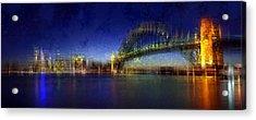 City-art Sydney Acrylic Print by Melanie Viola