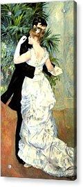 City Dance Acrylic Print by Pierre Auguste Renoir