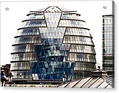 City Hall London Acrylic Print by Christi Kraft