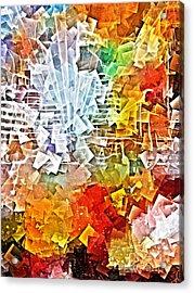City Jam Acrylic Print by Lutz Baar