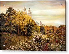Autumn At San Remo Acrylic Print by Jessica Jenney