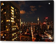 City Living Acrylic Print by Andrew Paranavitana