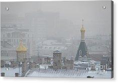 City Mist 1 Acrylic Print by Anna Yurasovsky