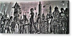 City Of Babel  Acrylic Print by George Harrison