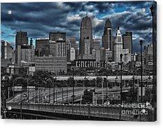 City Of Color Acrylic Print by Steve Johnson