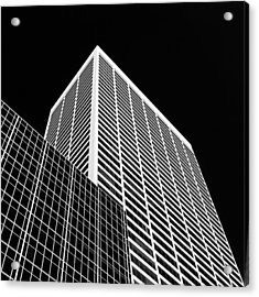 City Relief Acrylic Print by Dave Bowman