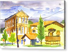 City Streets II Acrylic Print by Kip DeVore