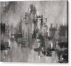 Cityscape 3 Acrylic Print by Jack Zulli
