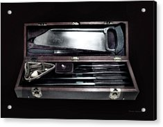 Civil War Surgical Kit Acrylic Print by Thomas Woolworth