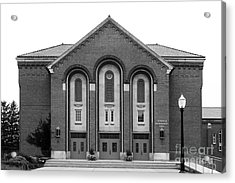 Clarke University Donaghoe Hall Theater Acrylic Print by University Icons