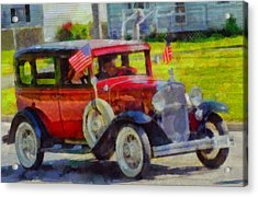 Classic Cars American Tradition Acrylic Print by Dan Sproul