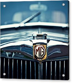 Classic Marque Acrylic Print by Dave Bowman