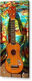 Classic Ukelele Acrylic Print by Ron Regalado
