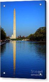 Classic Washington Acrylic Print by Olivier Le Queinec