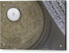 Classical Dome With Oculus Acrylic Print by Lynn Palmer