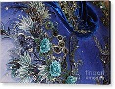 Classically Costumed Viii Acrylic Print by Cassandra Buckley