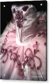 Classically Costumed X Acrylic Print by Cassandra Buckley