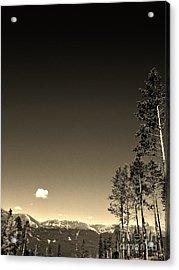 Clear Colorado Skies Acrylic Print by Garren Zanker