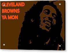 Cleveland Browns Ya Mon Acrylic Print by Joe Hamilton