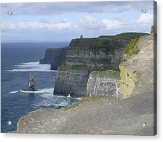Cliffs Of Moher 4 Acrylic Print by Mike McGlothlen