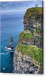 Cliffs Of Moher 41 Acrylic Print by Douglas Barnett