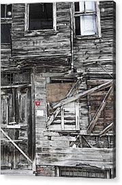 Closed No16 Acrylic Print by Lutz Baar