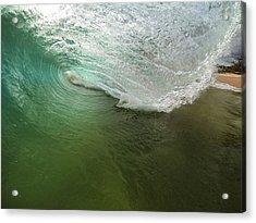 Closeout Wave Acrylic Print by Brad Scott