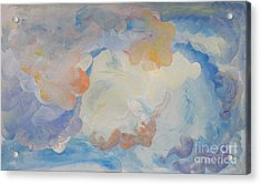 Cloud Abstract 2 Acrylic Print by Anne Cameron Cutri