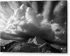 Cloud Burst Acrylic Print by Stephen Mack